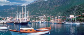 Кемер – морской курорт на юге средиземноморского побережья Турции