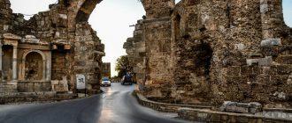 Сиде - турецкий курорт с исторической «изюминкой»