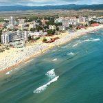Солнечный Берег -крупнейший морской курорт на востокеБолгарии,покрытый мелким жёлтым песком