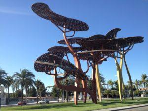 скульптура сосен Коста Дорада Испания