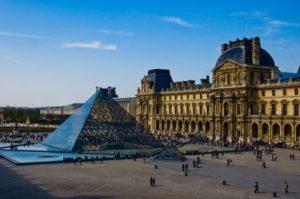 Лувр Париж Франция