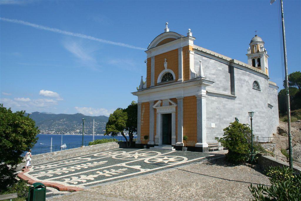 Портофино храм Сан Джорджио