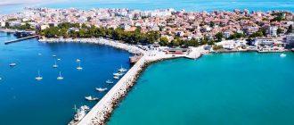 Поморие— небольшой курорт в Болгарии, расположенный на живописномморском берегу