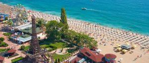 Золотые пески — одно из самых популярных местотдыха в Болгарии