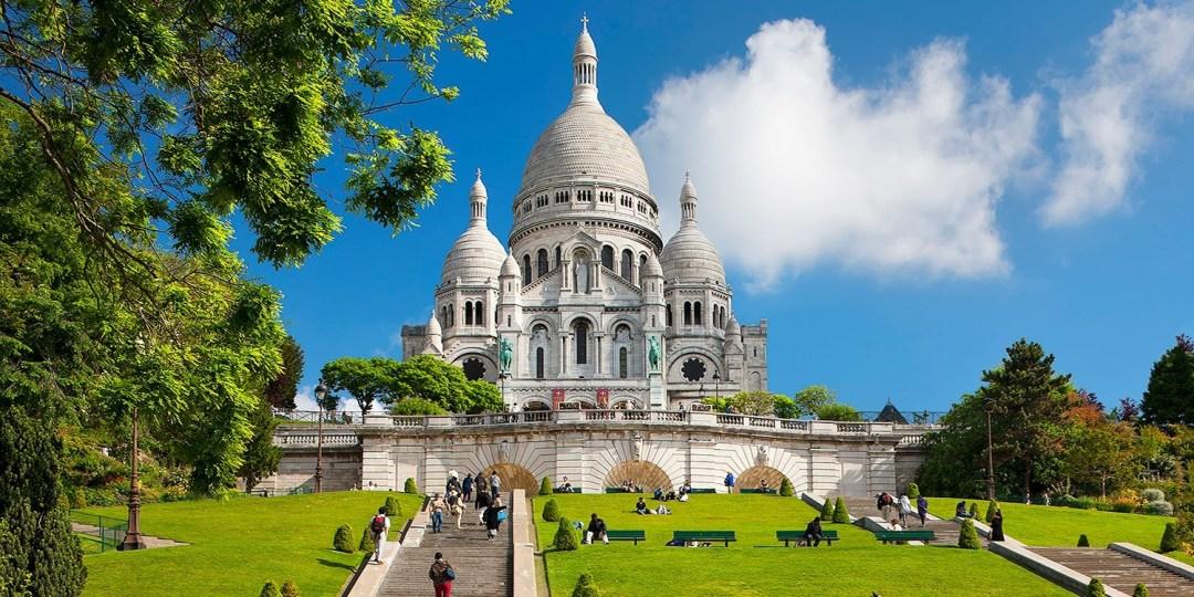 Монмартр Париж Франция