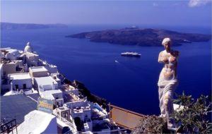 Санторини Греция
