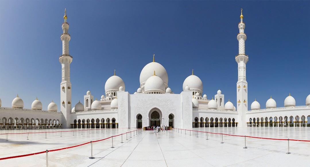 Абу-Даби мечеть Шейха Зайда