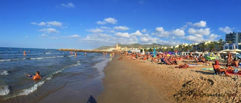 Басса Родона(Bassa Rodona) - главный гей-пляж города Ситжес
