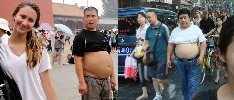 Пекинское бикини - новомодные странности китайских мужчин